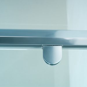 Semi-frameless Shower Screen detail 1