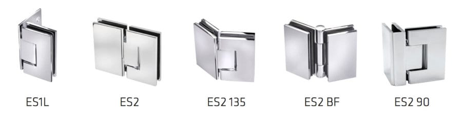 Precision Shower Screens Hinges & brackets