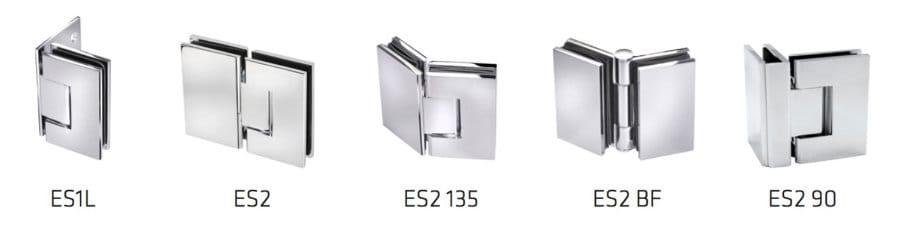 Precision Shower Screens Hinges & brackets